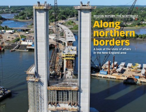Lamb-Star's SML Bridge was featured on the cover of Roads & Bridges Magazine!